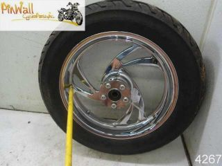 97 Harley Davidson Sportster Chrome Aftermarket Wheel Rim Wheels Rims Set