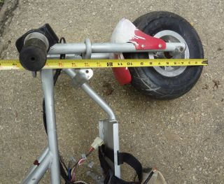 Minibike Mini Pocket Dirt Bike Motorcycle Frame Tires Kit Parts Only not Working