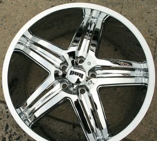 Dub Illusion S160 20 x 8 5 Chrome Rims Wheels Buick Regal 11 Up 5H 35
