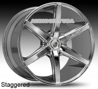 "22"" Lexani R Six for Land Range Rover Wheels and Tires Rims HSE Sports"