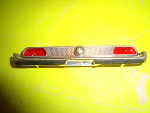 1 25 Scale Model Car Parts 1971 Ford Mustang Rear Bumper Taillights