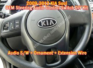 2009 2010 2011 2012 Kia Soul Steering Audio Remote Control Switch Assy Kit