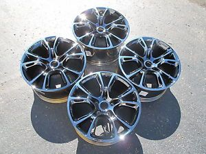 "20"" Jeep Grand Cherokee SRT8 Factory Mopar Black Chrome Four Wheels Rims 9113"