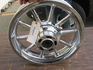 08 Suzuki C109R Chrome Set Front Rear Rims Wheels Boulevard C109 VLR1800