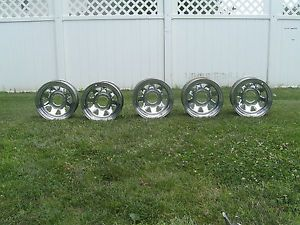 Original Jeep CJ Laredo Chrome Wheels Rims CJ5 CJ7 CJ8 Scrambler Nice