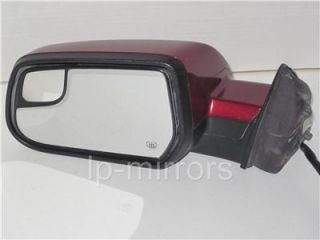 2010 2011 2012 Chevy Equinox GMC Terrain Driver Side Red Power Mirror Heated