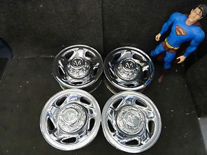 "16"" Chrome Dodge RAM 2500 Factory Wheels Stock 1994 2003 8 Lug Steel Rims 2042"