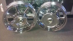 Yamaha Royal Star Venture XVZ1300 Chrome Wheels Rims Wheel Rim Touring Cruiser