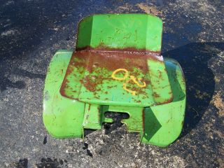 Old John Deere Garden Tractor Lawn Mower Round Fenders Hit Miss Gas Engine Nice