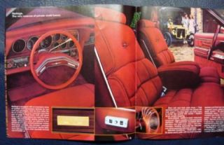 Ford Thunderbird Car Sales Brochure ' Heritage' Model 1979 Large Format