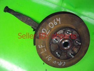 97 98 99 00 01 Honda CRV Front Left Spindle Knuckle Hub Bearing 51215 S10 A10