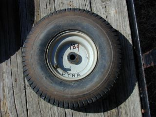 189 Dynamark Riding Lawn Mower Front Tire Wheel 15 x 6 00 6