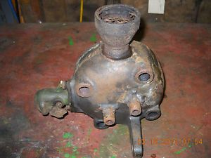 3HP John Deere Model E Engine Head Tractor Steam Magneto Gas Gear Farm Parts