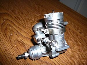 Enya 45 RC Model 6001 70s Era RC Model Airplane Engine Excellent