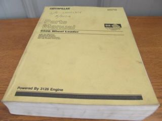 Caterpillar Parts Manual 950G Wheel Loader w 3126 Engine SEBP2700 03 7