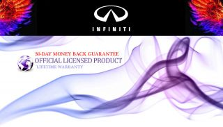 Infiniti® M35 Trailer Tow Chrome Hitch Cover Plug