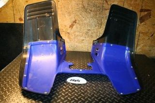 Yamaha Warrior 350 YFM350 Plastic Front Fenders with Graphics Nice