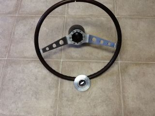 RARE Chevy Wood Steering Wheel Corvair Nova Chevelle Chevy II Camaro Hot Rod