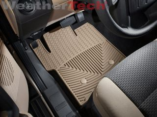 Weathertech® All Weather Floor Mats Ford Super Duty Supercab 2011 2013 Tan