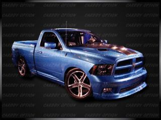 02 08 Dodge RAM1500 Challenger Style Functional RAM Air Fiberglass Engine Hood