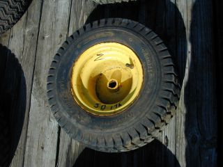 2 John Deere 175 Riding Lawn Mower Rear Tire Wheel 18 x 8 50 8NHS