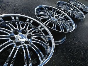 "22"" Chevrolet Tahoe Silverado GMC Denali Factory Stock Chrome Wheels Rims"