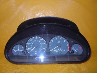 01 02 03 BMW 325i Speedometer Instrument Cluster Dash Panel 138 768