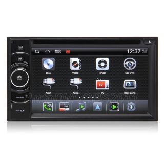 Android Universal Car DVD GPS Navi with 6 2'' HD Screen 3G WiFi Virtual CDC