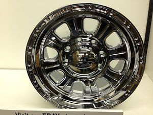 17 inch Chrome Raceline Monster Wheels Rims Ford F250 F350 Excursion 8x170 06