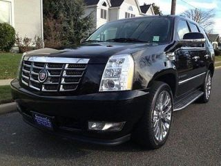 Cadillac Escalade Black Leather Navi AWD Chrome Wheels