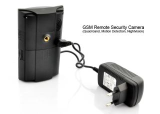 GSM Remote Security Camera Quad Band Motion Detection Nightvision