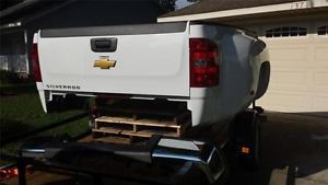 2007 2013 Chevy Silverado Sierra Dually 3500 HD 8ft Truck Bed Tailgate Bumper