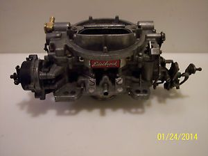 Edelbrock Carter 1406 Carburetor w Electric Choke Mopar Dodge Chevy
