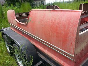 1960 1966 Chevy Truck Long Fleetside Bed Minus Tailgate Rust Free
