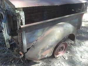 1936 1937 1938 Dodge Pickup Truck Bed Box Antique Vintage Old Rat Rod Ford Chevy
