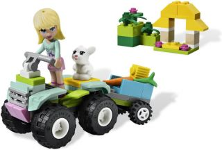 New 2012 Lego Friends 3935 Stephanie's Pet Patrol NIB New Lego for Girls