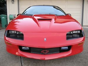 1993 1997 Chevy Camaro V6 SS Look Version 1 Trufiber RAM Air Body Kit Hood