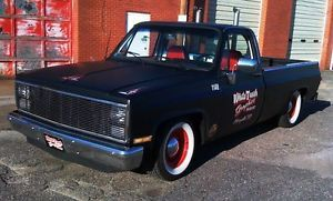 1987 Chevy Chevrolet Pickup Shop Truck Rat Rod 87 Long Bed