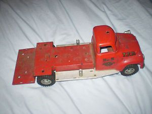 Vintage Tonka Toys 1950's Fire Truck TFD No 5 Pumper for Parts or Restore Tonka