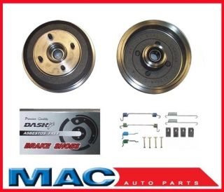 2000 2007 Focus Rear Drum Wheel Bearing Brake Shoes