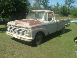 66 Ford Custom Cab Pickup Truck 1966 2WD 1 2 Ton F100 Old Collector Salvage Part