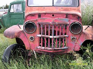 1954 Jeep Willys 4 Wheel Drive Pickup Truck Parts Vehicle