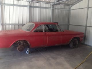 1964 Chevy Corvair Monza 900 Coupe with Tons of Parts Engines Trannies and Etc