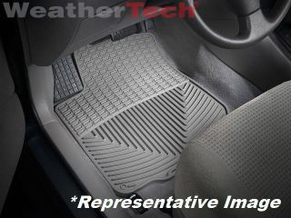 Weathertech® All Weather Floor Mats Toyota Matrix 2003 2008 Grey