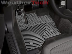 Weathertech® All Weather Floor Mats Ford Flex 2011 2013 Black