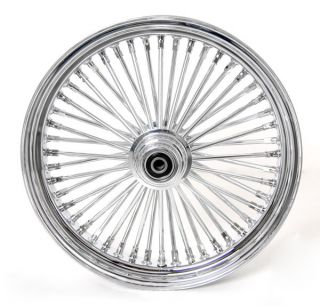 18 18 Wheels Fat Mammoth 48 Spokes Chrome for Harley Fatboy Softail Dyna Delux