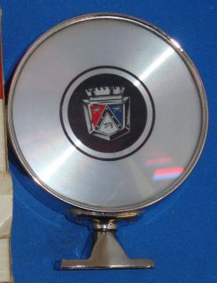 Mirror Ford Galaxie Fairlane Custom 500 Ford Crest Emblem
