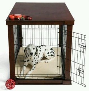 Dog Crate Cage Animal House Bed for Training Labrador Pet Cat Pit Bull Furniture