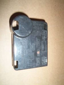 Fuse Relay Box Cover Interior Under Dash Ford Bronco 1983 83