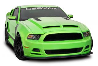 Cervinis 13 14 Mustang Type 4 RAM Air Hood